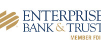 Enterprise Bank and Trust New Logo with Member FDIC
